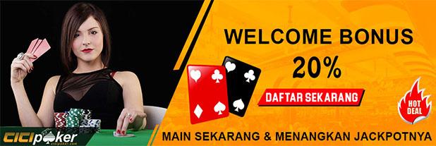 Bonus Poker Ceme Online